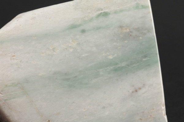 ミャンマー産 翡翠 原石 磨き 91g