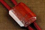 ループタイ 赤玉石 (カット)