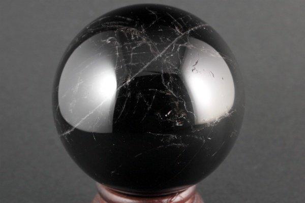 スター入り黒水晶 丸玉 102mm