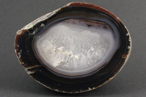 アゲート(瑪瑙) 原石 一面磨き 316g