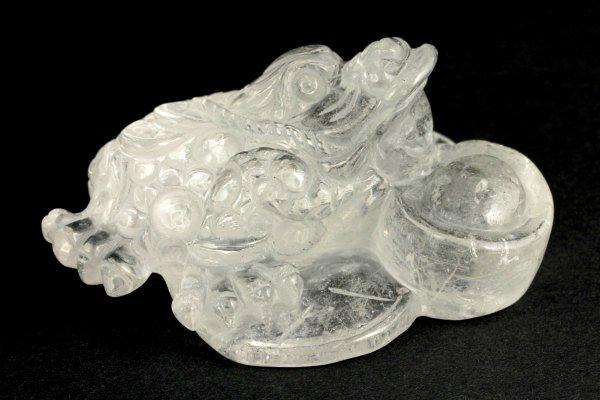 水晶 銭蛙 188g