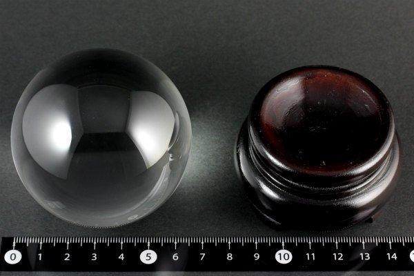 天然無垢 水晶 丸玉 65.6mm