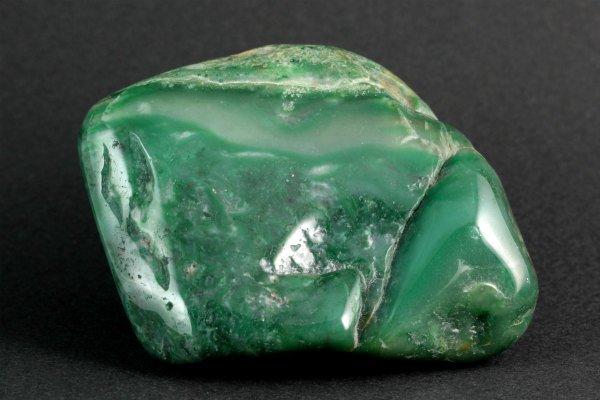アフリカンジェイド 原石 磨き 273g
