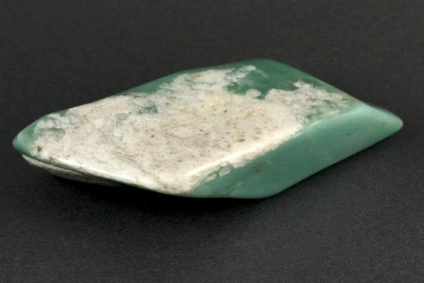 アフリカンジェイド 原石 磨き 206g