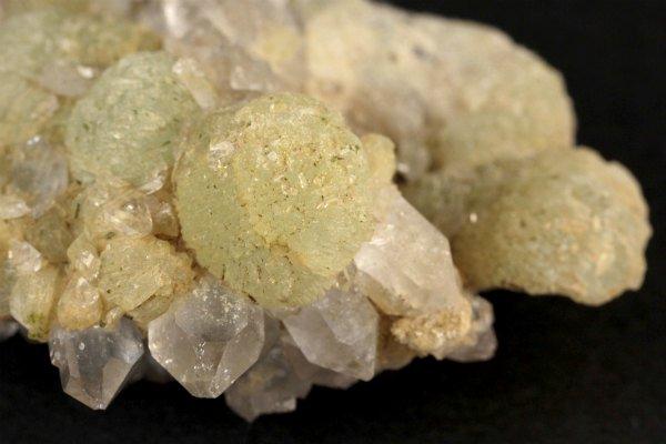 プレナイト 原石 結晶 57g