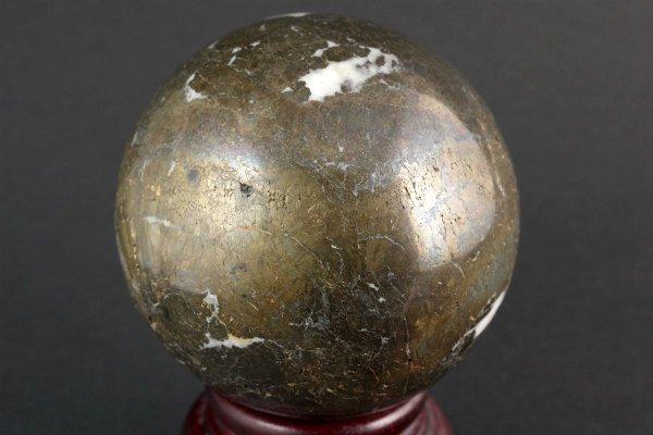 パイライト (黄鉄鉱) 丸玉 80mm