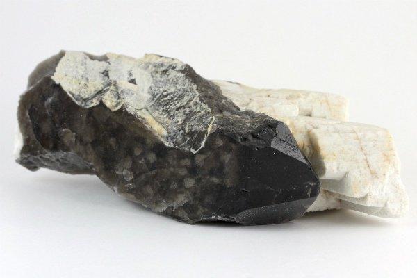 蛭川産黒水晶 原石 271g