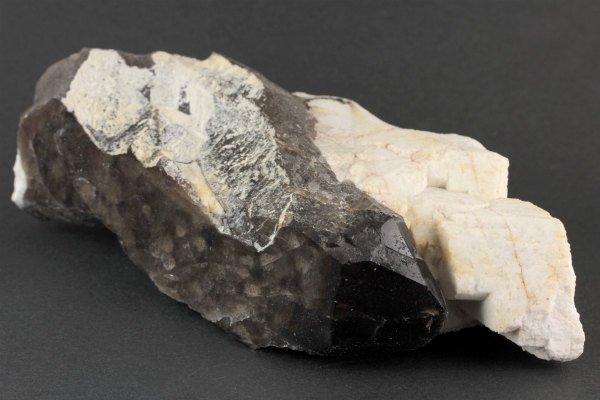 蛭川産黒水晶 原石 326g