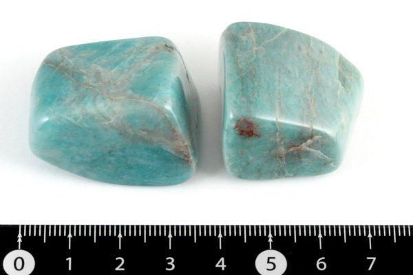 アマゾナイト 原石 磨き2個セット 62g