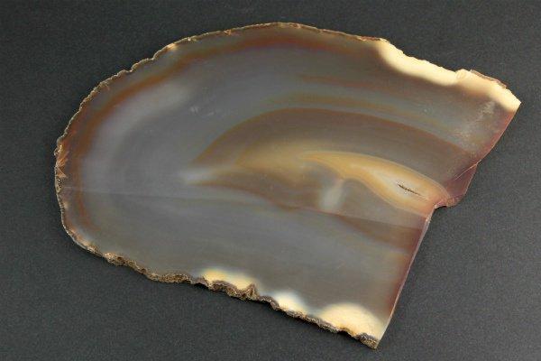 アゲート(生瑪瑙) スライス板 223g / 未研磨板