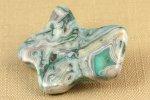 天然石ブローチ レースメノウ(ラフシェイプ)