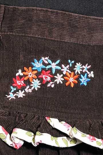 047 花柄フリルスカート_2