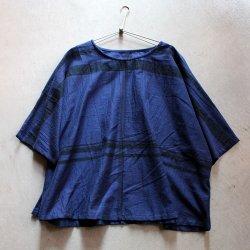 【saleセール】玉木新雌 / tamaki niime<br/>basic wear fuwa T(フワT )ハーフスリーブ(ネイビー)