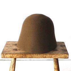 mature ha. / マチュアーハ<br/>free hat back stitch  フリーハット バックステッチ(モカ)