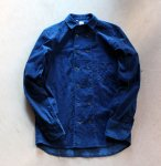 TATAMIZE / タタミゼ<br/>ダブルブレステッドシャツ インディゴコーデュロイ