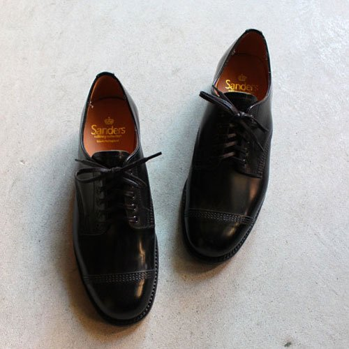 SANDERS / サンダース ミリタリーダービーシューズ female military derby shoe(レディース)