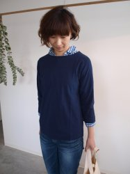 KINOTTO(キノット) ボートネックTシャツ