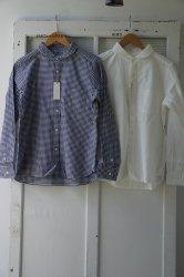prit(プリット) 60/1引き揃えスピンオックス ラウンドカラーシャツ