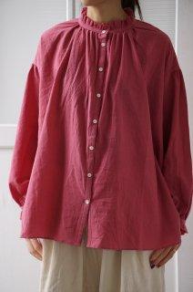 tumugu(ツムグ)ふわふわコットンロングシャツ