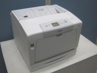 カラーレーザープリンターEPSON LP-S5300カウンタ47226枚【中古】