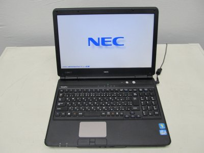 中古ノートパソコン NEC VersaProVK25MX-DWindows7proCore i5 2.5GHz HDD250GB メモリ4G