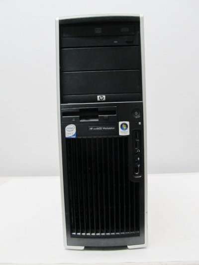 中古パソコン/パソコン HP xw4600 WORKSTATION  Windows7 HDD 1TB/メモリ 4G Core2 3GHz FX 1700