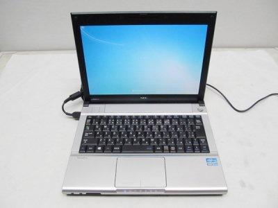 中古ノートパソコン NEC 日本電気 VK27MB-G Corei5 HDD320G/メモリ4G/Win7 無線LAN