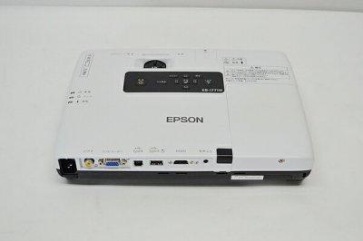 訳あり ランプ時間1285時間/中古プロジェクター EPSON/エプソン EB-1771W リモコン無し【中古】
