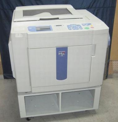 【新品赤インク/新品マスター】印刷機 RISO(理想科学) MZ770