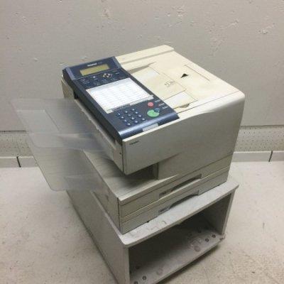 中古FAX・新品トナー付きPanafax UF-A5002段給紙カセットカウンタ19033
