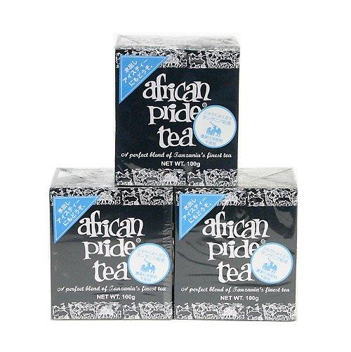 ファイナルセール!驚愕の70%OFF!紅茶アフリカンプライド<リーフ>ワケあり3箱特別お買い得
