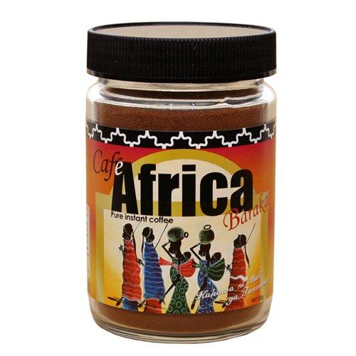カフェアフリカ・バラカ<瓶>80gタンザニアの極上インスタントコーヒースイーツ作りにも!
