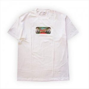 Red Tops × BEDLAM / SF2 . S/S Tee . White
