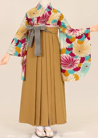 卒業式 袴 レンタル【着物・袴セット】S...