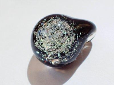 ギベオン隕石 惑星ペンダントトップ 土星