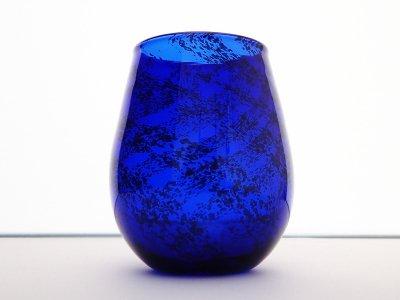 隕石グラス(プレーン・隕石右巻き)