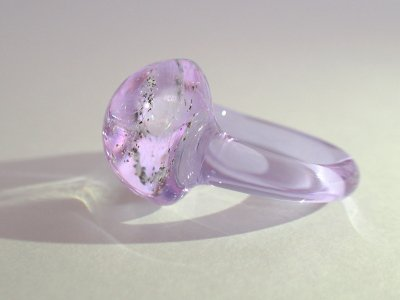 惑星Xの指輪(クリア・ドームタイプ)