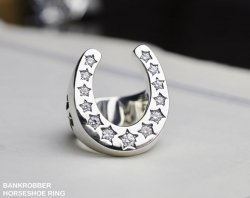 [ BANKROBBER ] HORSESHOE RING