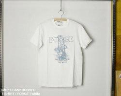 [ GMP × BANKROBBER ] T-SHIRT ( FORGE ) white