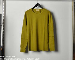 [ LOST CONTROL ] クルーネックサーマルロングスリーブ / CN Thermal Lomg Sleeve  ( Autumn Leaf )
