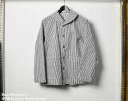 [ Buzz Rickson's ] ヒッコリーワークジャケット/ WWII  Hickory Work Jacket