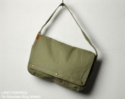 [ lost control ] オックスショルダーバッグ / Ox Shoulder Bag (khaki)