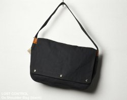 [ lost control ] オックスショルダーバッグ / Ox Shoulder Bag (black)