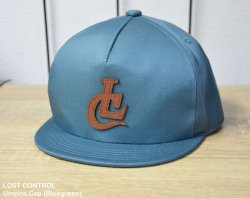 [ lost control ] アンパイアキャップ / Umpire Cap(Bluegreen)