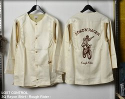 [ lost control ] スリークオターレーヨンシャツ / 3Q Rayon Shirt - Rough Rider -