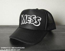 [ SABBAT13 ×MESSAROUND15aniv ]  アイム ア メス メッシュキャップ / I'm A MESS MESH CAP
