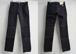 [ ROLL ] スリムフィットデニム / Slim-Fit Denim (black)