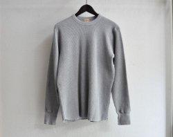 [ Whitesville ] ヘビーウェイトサーマルTシャツ / Heavyweight Thermal T-shirt ( Gray )