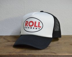 [ ROLL ] ロウル ベルタイプメッシュキャップ /ROLL Bell Type Mesh Cap 2nd(white*black)