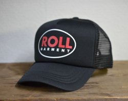 [ ROLL ] ロウル ベルタイプメッシュキャップ /ROLL Bell Type Mesh Cap 2nd(black)